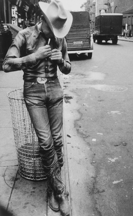 Rodeo - New York City by Robert Frank