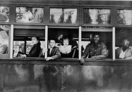 Streetcar by Robert Frank in The Americans