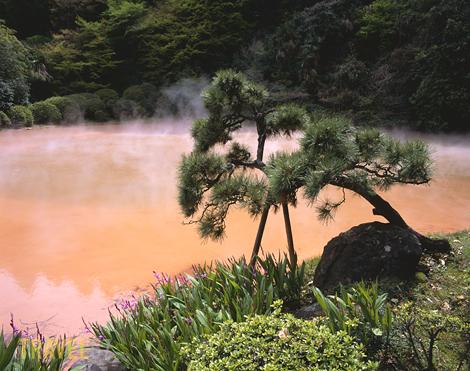 Chinoike Jigoku, Blood Pond Hell, Beppu