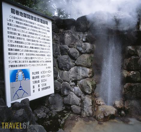 Tatsumaki Jigoku, Geyser Hell, Beppu