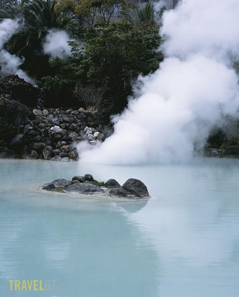 Shiraike Jigoku, White Pond Hell, Beppu