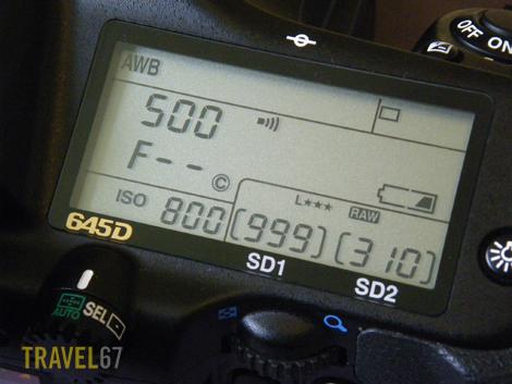 67 lens on 645D panel