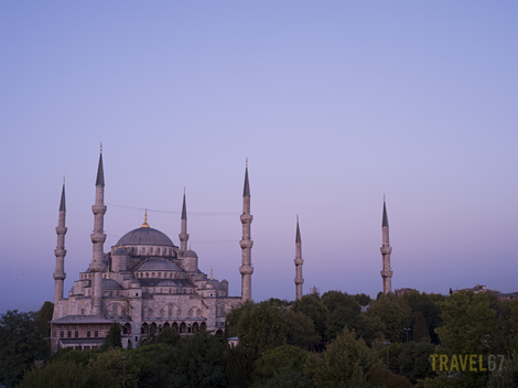 Blue Mosque at Dawn, Istanbul