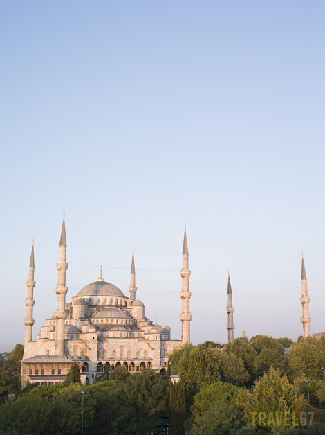 Blue Mosque (a few minutes after dawn) Istanbul