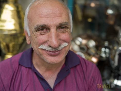 Copperware Merchant - Istanbul, Turkey