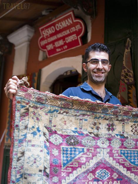 Istanbul's Grand Bazaar - Sisko Osman's Carpets