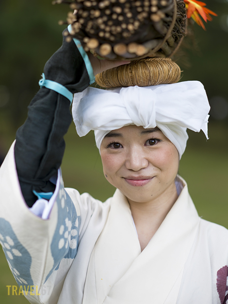 Jidai Matsuri, Festival of Ages, in Kyoto, Japan