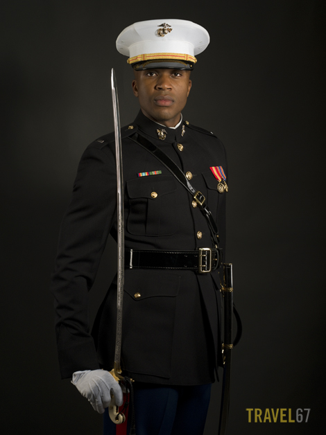 Marine Corps Blue Dress Uniform