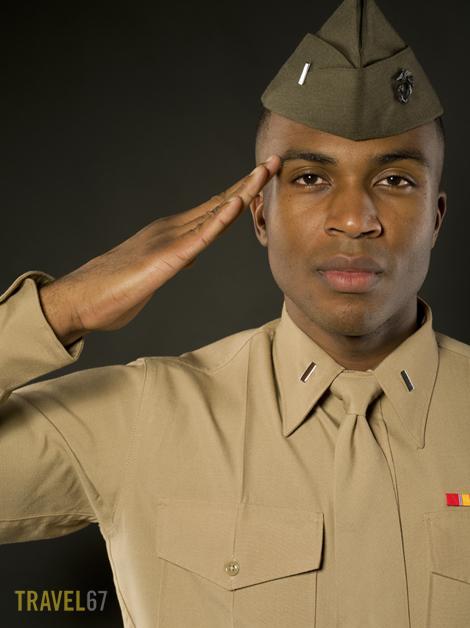 Marine Corps Service Uniform