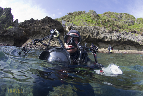 Dive Buddy Shawn Miller