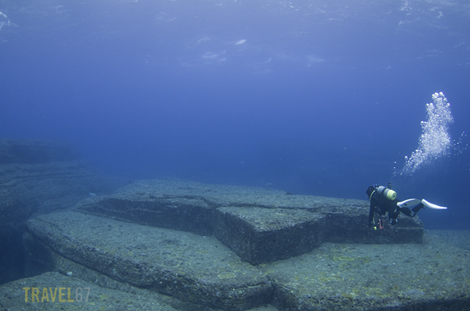 Yonaguni Monument, Okinawa - Turtle Sculpture
