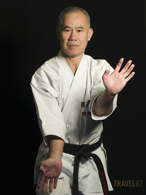 Gojuryu Karate 8th dan Masaji Taira.