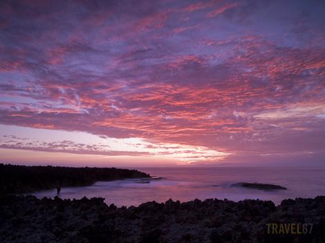 Sunset at Cape Zampa