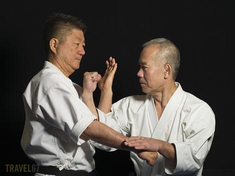Gojoryu Karate 7th dan Katsuhiko Yogi