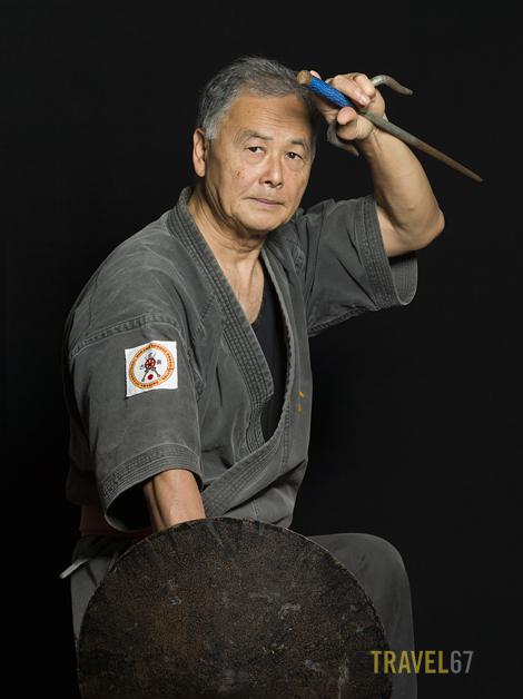 Gojuryu Karate 10th dan Tetsuhiro Hokama