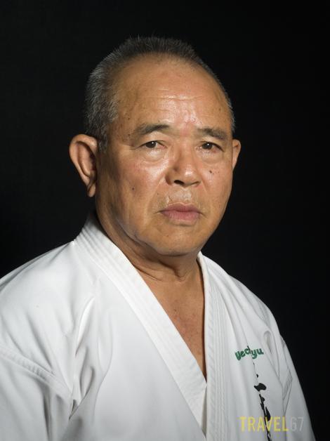 Uechiryu Karate 9 dan Takehiro Gaja