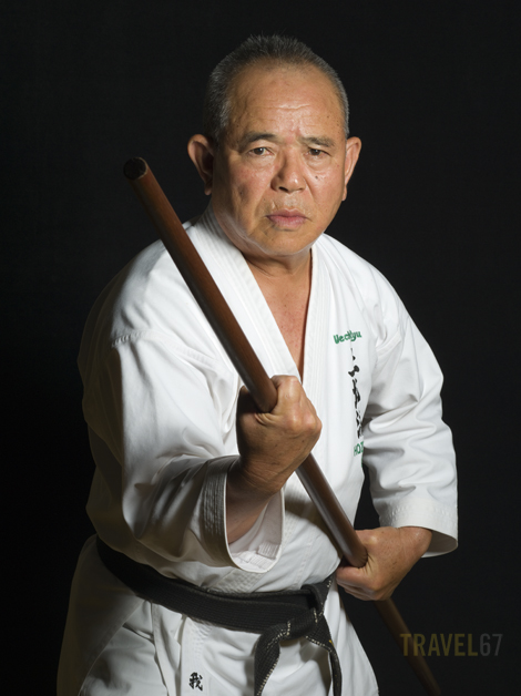 Uechiryu Karate 9th dan Takehiro Gaja