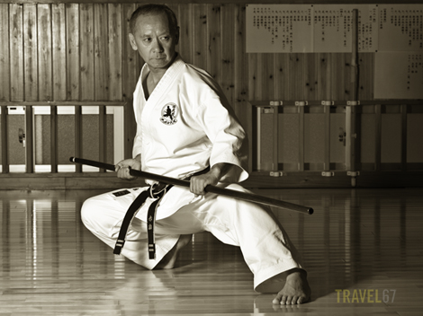 Shorinryu Karate and Ryukyu Kobudo Master Hiroshi Akamine