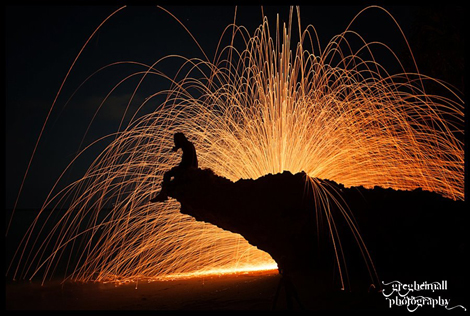 Let the sparks fly by Greg Heimall