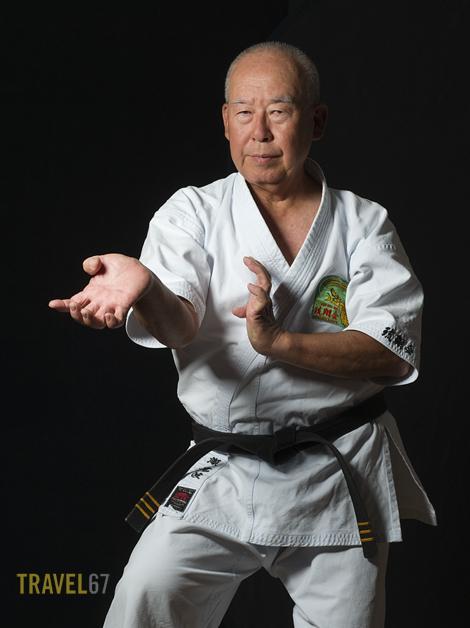 9th dan Gojuryu Karate Master Shigetoshi Senaha