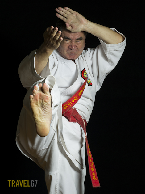 Shorin-ryu Karate 10th Dan Master Sokuichi Gibu