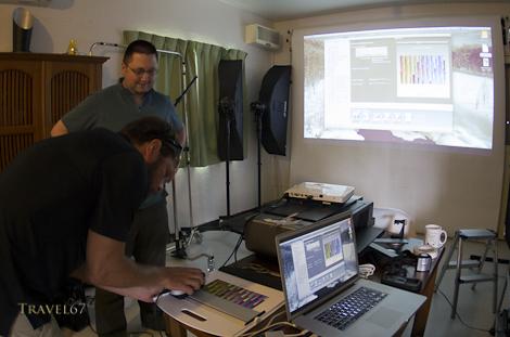 Printer calibration using the X-Rite i1Publish Pro 2