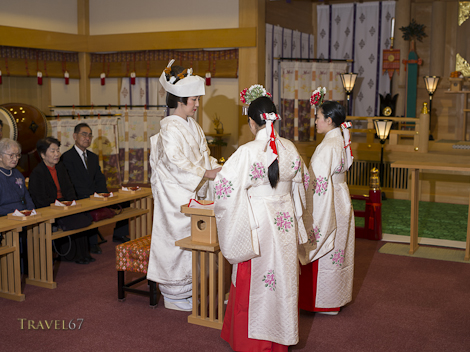 Shinto Shrine Wedding