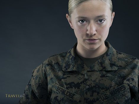 Corporal Bermudez United States Marine Corps.
