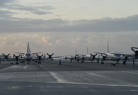 Naha Airport, Okinawa at Dawn