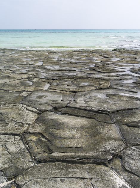 Tatami Rocks - Kume Island, Okinawa.