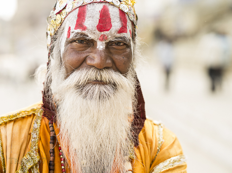 Sadhu Holy Man - Varanasi, India