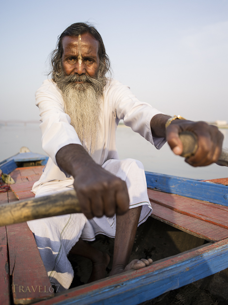 Baba Jee the River Ganges Boatman