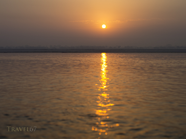 Dawn over the Ganges River