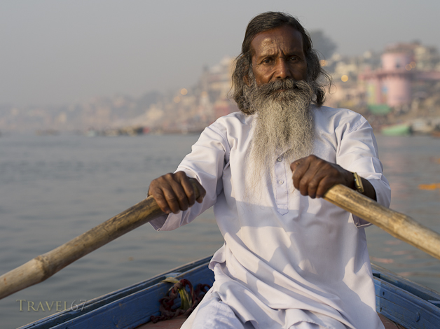 Baba Jee the Boatman at Dawn