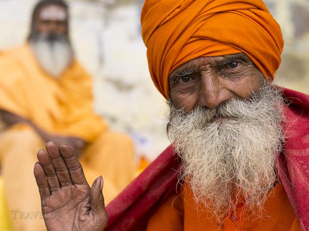 Two Sadhus - Varanasi, India