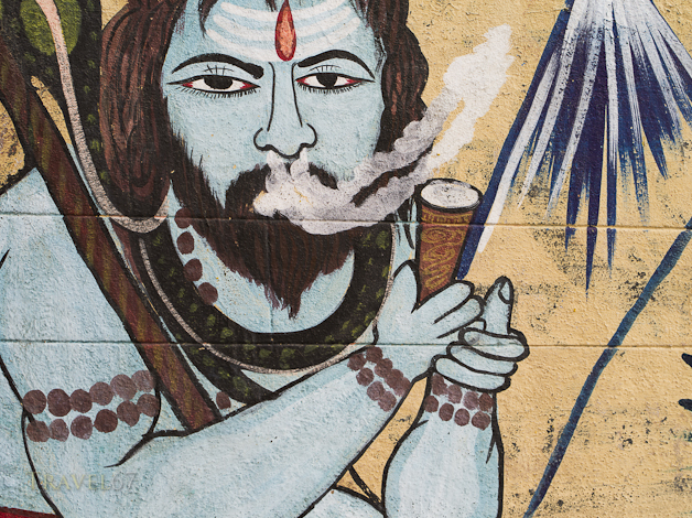 Street Art - Varanasi, India