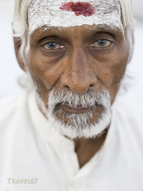 Sadhu in White