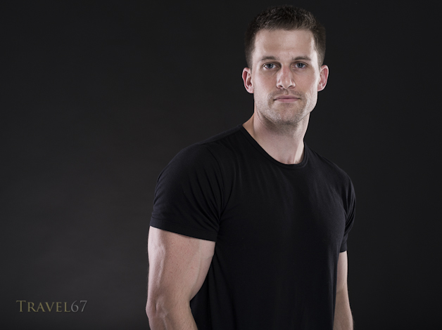 Model K - Black T-shirt