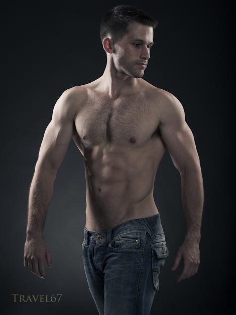 Male Model Portfolio - Torso