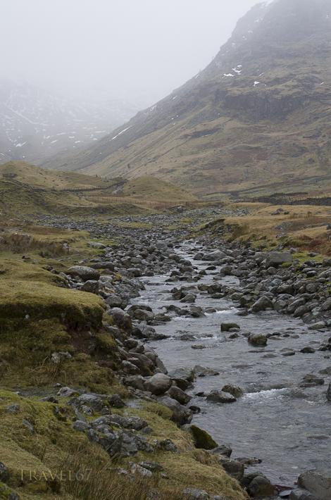 Seathwaite, nr Borrowdale, CumbriaWettesy place in England Seathwaite receives 124 inches (3.15m) of rain each year.