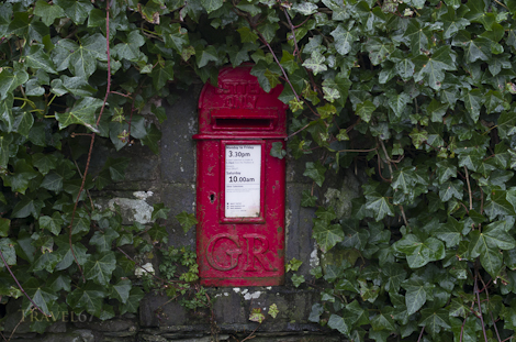 GR Post Box, Cumbria, England