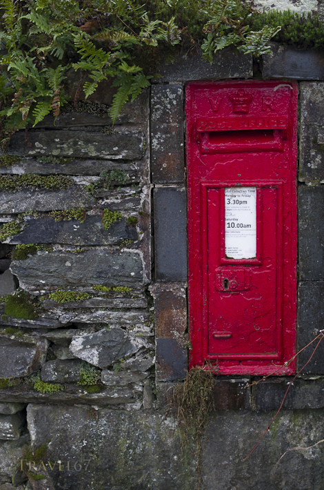 VR Post Box, Cumbria, England
