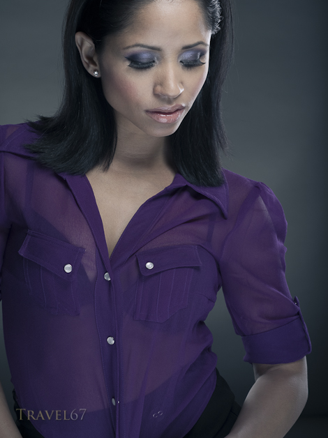 Talisa in Purple