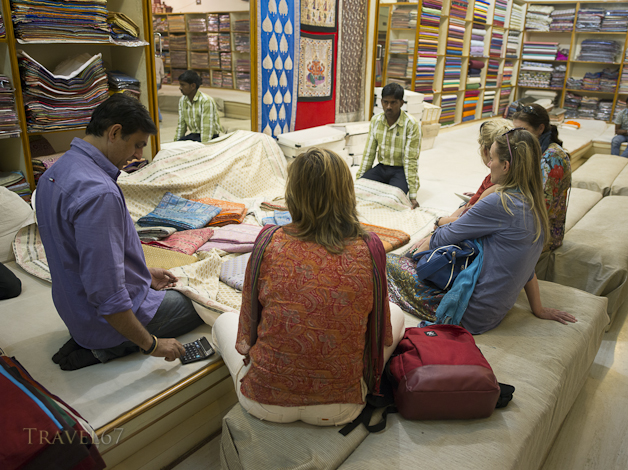 Textile Shop, Varanasi
