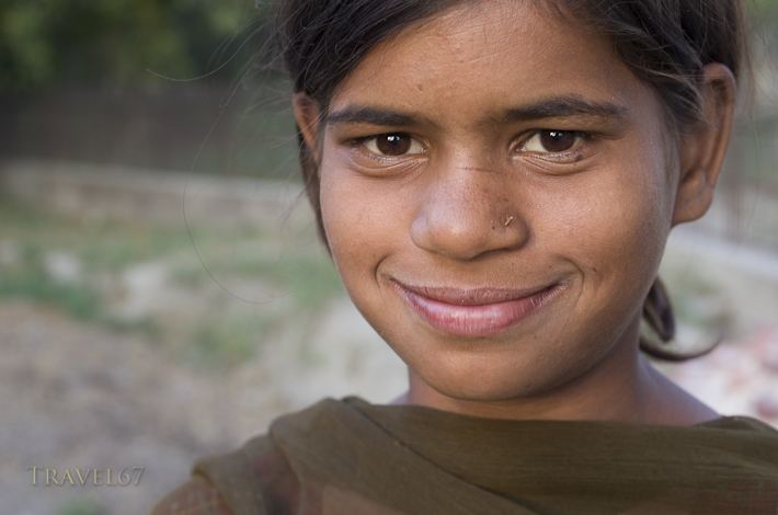 Indian Child, Agra, India