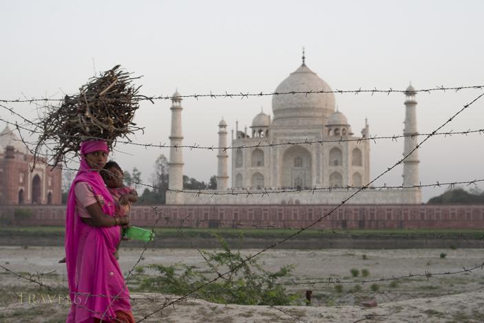 Taj Mahal - Behind the Wire