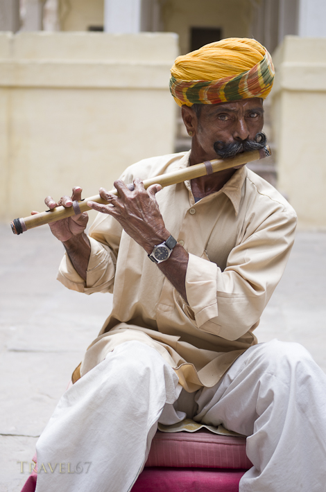 The Indian Flute Player