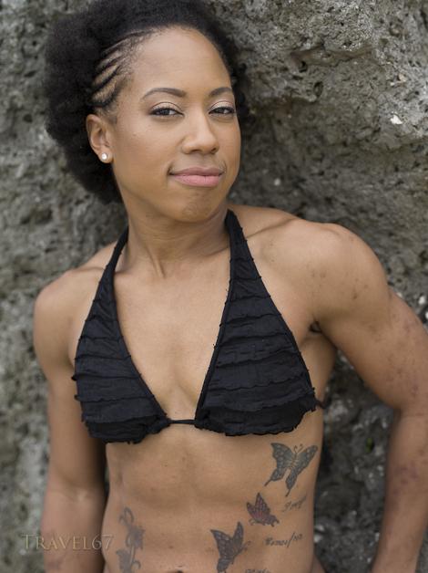 Bodybuilder Andrea Conn