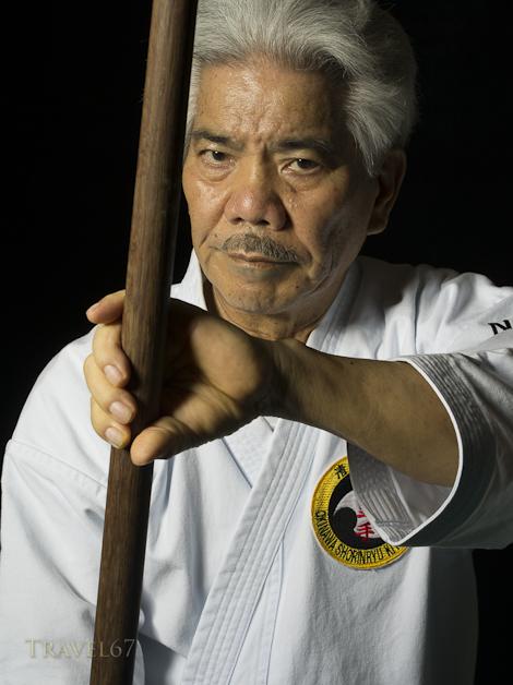 Seiei Nakaza 9th Dan Okinawa Shorinryu Kiyobukan