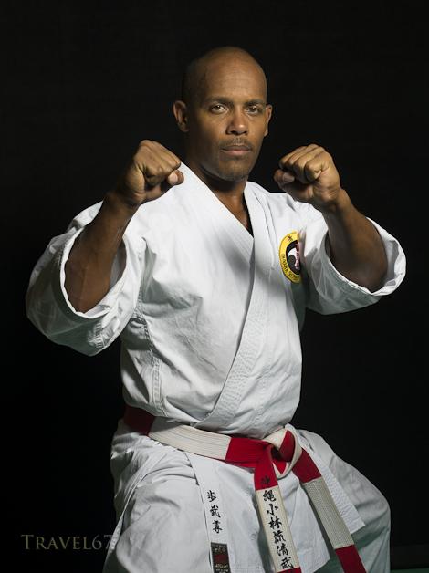 Brian Hobson 7th Dan Okinawa Shorinryu Kiyobukan